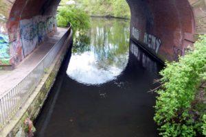 Streefishing - Brücke am Mühlenteich