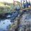 Fischbek: Baggerarbeiten für Karauschen-Projekt haben begonnen.